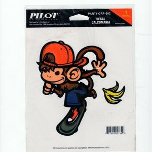 Other - Pilot Automotive Monkey Banana Decal, 6″ x 8″ GRP5